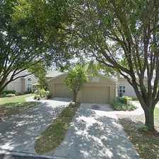 Rental info for Single Family Home Home in Zephyrhills for For Sale By Owner