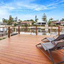 Rental info for STUNNING WATERFRONT 3 BEDROOM FURNISHED OR UNFURNISHED VILLA in the Surfers Paradise area