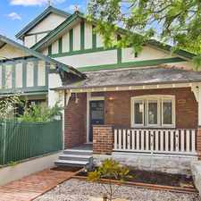 Rental info for Elegant Semi In Premier Location in the Sydney area