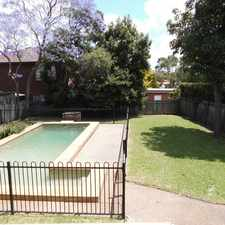 Rental info for Cool off this summer in your own pool in the Strathfield area