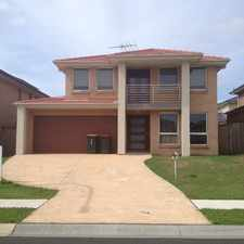 Rental info for 4 BEDROOM FAMILY HOME ....carpet free and ducted air con!! in the Kellyville Ridge area