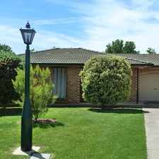 Rental info for Central Living & a Big Backyard! in the Wagga Wagga area