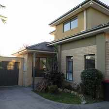 Rental info for STUNNING DOUBLE STOREY RESIDENCE IN A SUPERB LOCATION BECKONS! in the Melbourne area
