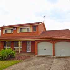 Rental info for PERFECT FAMILY HOME in the Sydney area
