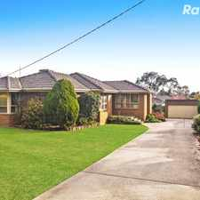 Rental info for A Family Favourite in the Heart of Rowville with 6 month lease in the Melbourne area