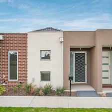 Rental info for Low Maintenance Parkside Living in the Craigieburn area