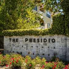 Rental info for Presidio