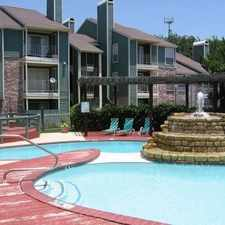 Rental info for 6055 Ridgecrest Trail #1675 in the Fort Worth area
