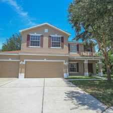 Rental info for PREPARE TO ENJOY THE PEACEFUL CONSERVATION THAT AWAITS YOU IN THIS 4 BDRM, 3 BATH PLUS OFFICE HOME IN TAMPA BAY!!