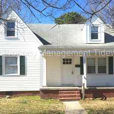 Rental info for NORFOLK 5 BEDROOM, 2.5 BATH BEAUTY FOR RENT!! in the Ballentine Place area