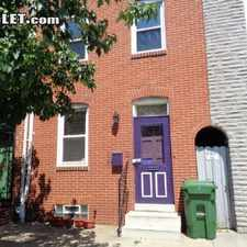Rental info for $2300 3 bedroom Townhouse in Baltimore City Baltimore South in the Upper Fells Point area