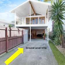 Rental info for GROUND LEVEL VILLA - WALK TO BEACH in the Burleigh Waters area