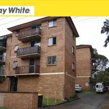 Rental info for 10/6 Eyre Place - Available in the Wollongong area