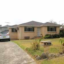 Rental info for BEAUTIFUL HOME FOR LEASE! in the Sydney area