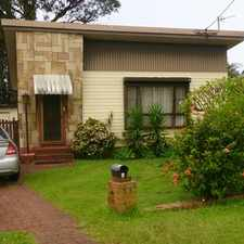 Rental info for Located on a large yard in the Wollongong area