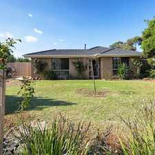 Rental info for 3 BEDROOM HOUSE IN MELTON WEST in the Melton West area