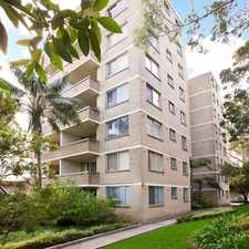 Rental info for Modern one bedroom in sought after location in the Sydney area