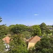 Rental info for Whisper quiet in the heart of Mosman in the Sydney area