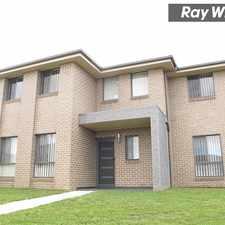 Rental info for NEW CONTEMPORARY HOME in the Sydney area