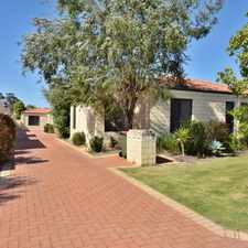 Rental info for LOVELY REAR VILLA in the Perth area