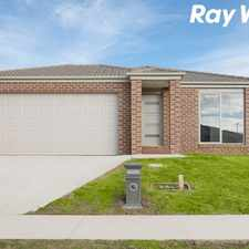Rental info for BRAND NEW 4 BEDDER IN ARDEN! in the Pakenham area