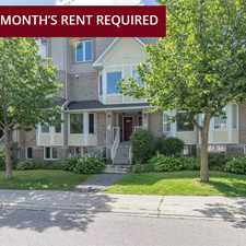 Rental info for Jubilee Townhomes in the Rideau-goulbourn area