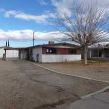 Rental info for House for Rent in the Barstow area