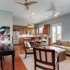 Rental info for Two Bedroom In Garden District in the Uptown area