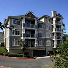 Rental info for Pinnacle on Lake Washington in the Renton area