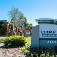 Rental info for Cedar Run