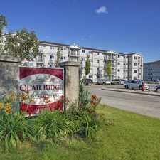 Rental info for Quail Ridge Apartment Homes