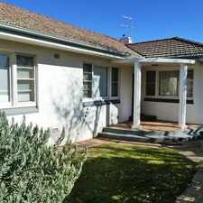 Rental info for Sought after Turvey Park address in the Wagga Wagga area