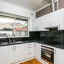 Rental info for Updated One Bedroom Apartment! Ideally located. in the Adelaide area