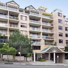 Rental info for Fantastic one bedroom unit. in the Wollstonecraft area