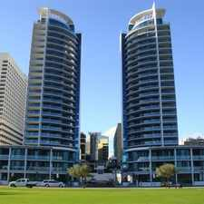 Rental info for WINE & DINE ON LEVEL NINE!!! in the East Perth area