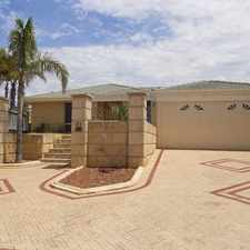 Rental info for SPACIOUS FAMILY HOME IN BEACHSIDE SUBURB !!!!!!!! in the Mindarie area