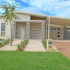 Rental info for Stunning property situated in the Elements and boasting space for a boat and a shed!