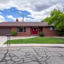 Rental info for Dixie State Home