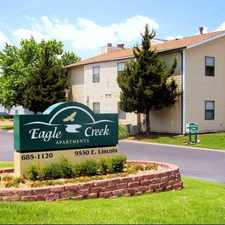 Rental info for Eagle Creek Apartments in the Wichita area
