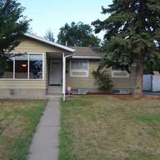 Rental info for 3527 105B Street Northwest