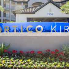 Rental info for Portico Kirby in the Houston area