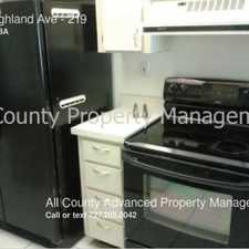Rental info for 90 Highland Ave