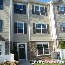Rental info for 3 Bed 2.5 Bath Townhouse In Reservoir Ridge