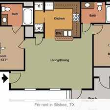 Rental info for Silsbee is the Place to be! Come Home Today!