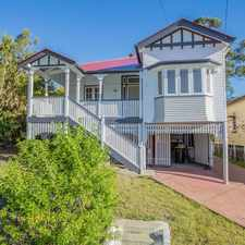 Rental info for Picturesque Queenslander with Modern Twist