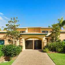 Rental info for SPACIOUS, FULLY FURNISHED TOWNHOUSE in the Helensvale area