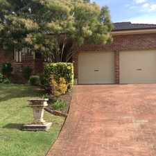 Rental info for Great Family Home in the Narellan area