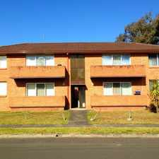 Rental info for Conveniently Located Two Bedroom Unit in the Wollongong area
