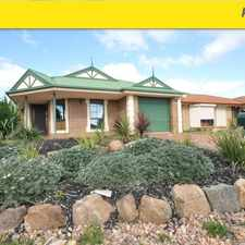 Rental info for LOVELY 3 BEDROOM FAMILY HOME in the Adelaide area