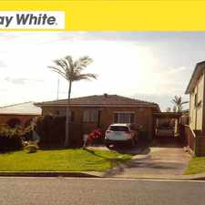 Rental info for 24 Holman Street - Available in the Port Kembla area